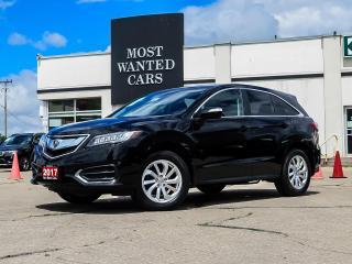 Used 2017 Acura RDX AWD|TECH PKG|NAV|BLIND SPOT|ACC|LANE DEP WARNING for sale in Kitchener, ON
