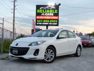 Used 2012 Mazda MAZDA3 GS-SKY,TOURING,LEATHER,LOADED,CERTIFIED,NO-ACCIDEN for sale in Mississauga, ON