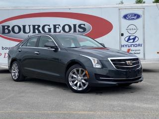 Used 2018 Cadillac ATS 2.0L Turbo Luxury *BLUETOOTH, HEATED LEATHER SEATS, NAVIGATION, SUNROOF* for sale in Midland, ON