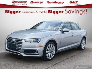 Used 2019 Audi A4 ACCIDENT FREE | AWD | SUNROOF for sale in Etobicoke, ON