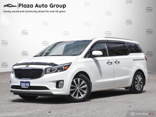 Used 2016 Kia Sedona SX   LEATHER   OFF LEASE   LOW KMS   CPO for sale in Richmond Hill, ON