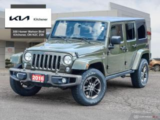 Used 2016 Jeep Wrangler Unlimited Sahara for sale in Kitchener, ON
