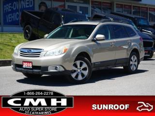 Used 2010 Subaru Outback 2.5i Sport  ROOF P/SEAT HTD-SEATS 17-AL for sale in St. Catharines, ON
