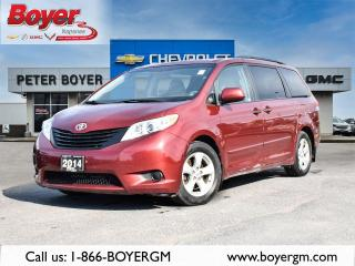 Used 2014 Toyota Sienna L L for sale in Napanee, ON
