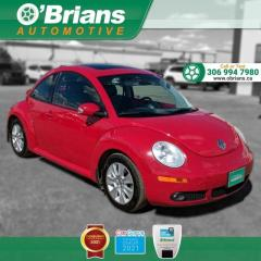 Used 2006 Volkswagen New Beetle Coupe 2.5L w/Leather, Heated Seats, A/C for sale in Saskatoon, SK