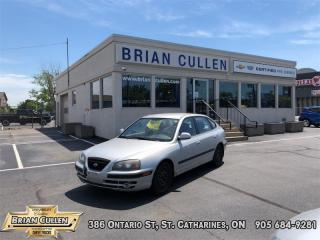Used 2005 Hyundai Elantra GL  AS-TRADED, AS-IS! YOU CERTIFY YOU SAVE! FINANCING NOT AVAILABLE ON AS-IS, AS-TRADED VEHICLES! 2 SETS OF TIRES INCLUDED for sale in St Catharines, ON