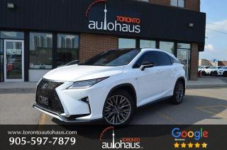 Used 2018 Lexus RX 350 F-SPORT 3 I RED INTERIOR I ONE OWNER for sale in Concord, ON