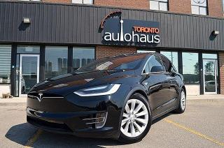 Used 2016 Tesla Model X 75D I 6 PASS I WHITE INTERIOR for sale in Concord, ON