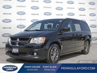 Used 2016 Dodge Grand Caravan SE/SXT - Aluminum Wheels - $117 B/W for sale in Port Elgin, ON