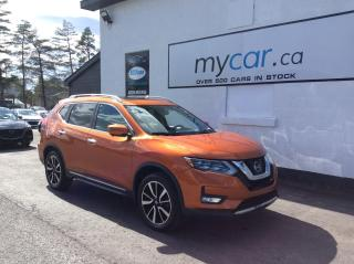 Used 2017 Nissan Rogue SL LEATHER, PANOROOF, NAV, RARE BURNT ORANGE!! for sale in North Bay, ON