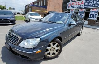 Used 2005 Mercedes-Benz S-Class for sale in Brampton, ON