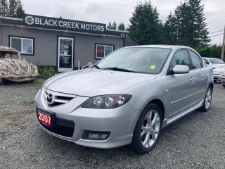 Used 2007 Mazda MAZDA3 GT for sale in Black Creek, BC