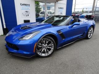 Used 2019 Chevrolet Corvette Z06 Convertible w-2LZ, Only 215 Kms!! Immaculate!! for sale in Langley, BC