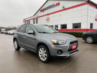 Used 2015 Mitsubishi RVR GT All Wheel Control with No accidents for sale in Tillsonburg, ON