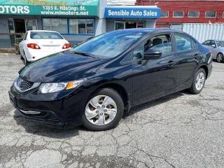 Used 2014 Honda Civic LX for sale in Vancouver, BC