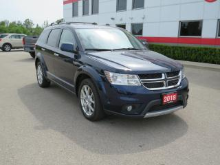 Used 2018 Dodge Journey GT with heated leather seats for sale in Tillsonburg, ON