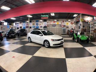 Used 2014 Volkswagen Jetta Sedan 1.8L TRENDLINE 5 SPEED A/C H/SEATS BACK UP CAM SUNROOF for sale in North York, ON