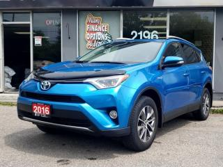 Used 2016 Toyota RAV4 Hybrid 4dr XLE for sale in Bowmanville, ON