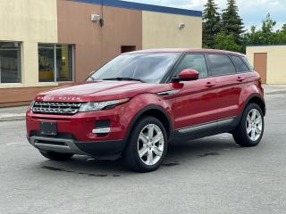 Used 2015 Land Rover Range Rover Evoque AWD NAVIGATION /PANORAMIC SUNROOF /CAMERA for sale in North York, ON