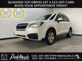 Used 2018 Subaru Forester 2.5i for sale in Sherwood Park, AB