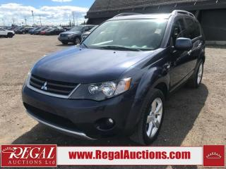 Used 2008 Mitsubishi Outlander XLS 4D UTILITY for sale in Calgary, AB