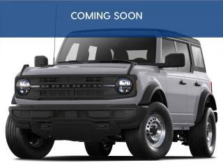 New 2021 Ford Bronco Big Bend 4.99% APR | HRD TOP | NAV | for sale in Winnipeg, MB