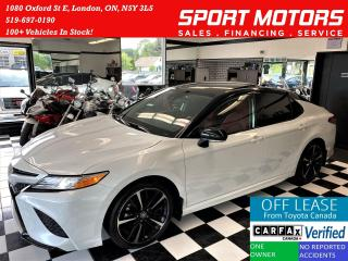 Used 2020 Toyota Camry XSE+Red Leather+ApplePlay+LaneKeep+CLEAN CARFAX for sale in London, ON