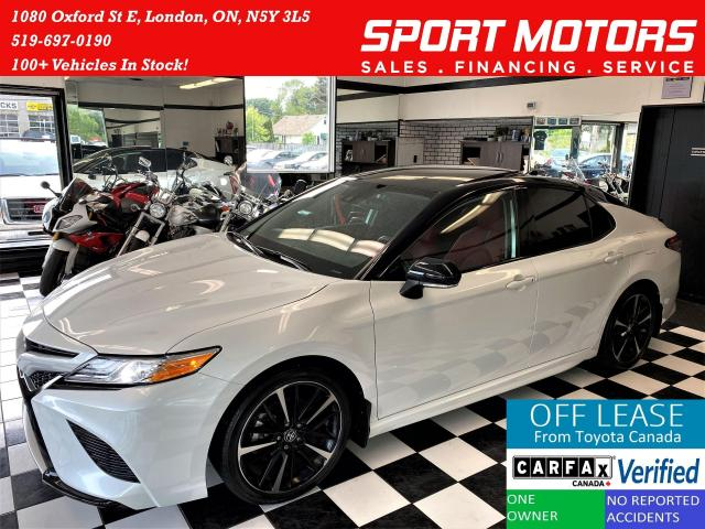 2020 Toyota Camry XSE+Red Leather+ApplePlay+LaneKeep+CLEAN CARFAX