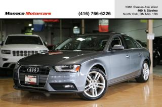 Used 2013 Audi A4 PREMIUM PLUS - NAVIGATION|SUNROOF|PUSHSTART for sale in North York, ON