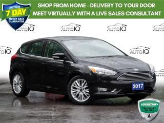 Used 2017 Ford Focus Titanium Leather   |   Sunroof   |   Navigation! for sale in St Catharines, ON