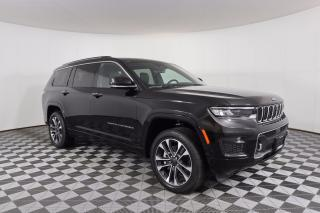 New 2021 Jeep Grand Cherokee L Overland IT'S JEEP SEASON for sale in Huntsville, ON