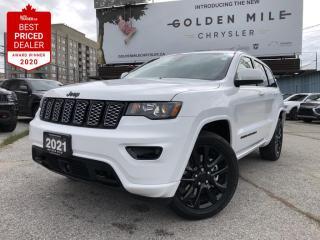 New 2021 Jeep Grand Cherokee Laredo 9 Alpine(R) speakers,3.6L Pentastar(TM) VVT V6 engine w/ESS, Leather Seats for sale in North York, ON