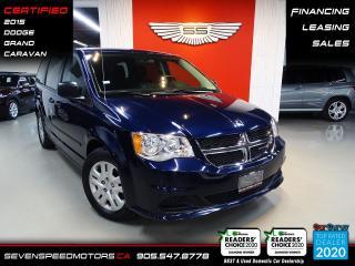 Used 2015 Dodge Grand Caravan CVP  | CARFAX CLEAN | CERTIFIED | FINANCE | 9055478778 for sale in Oakville, ON
