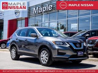 Used 2017 Nissan Rogue S AWD Heated Seats Bluetooth Backup Camera for sale in Maple, ON