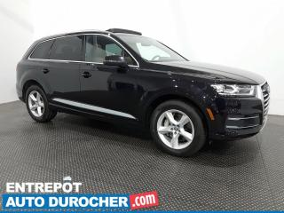Used 2018 Audi Q7 Komfort 7 Passagers-Bluetooth-Climatiseur - Cuir for sale in Laval, QC