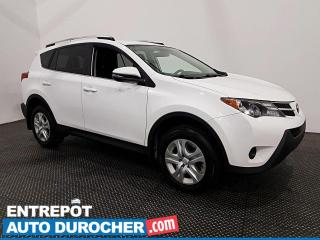 Used 2015 Toyota RAV4 LE - Bluetooth - Caméra de Recul - Climatiseur for sale in Laval, QC