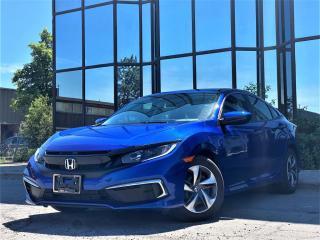 Used 2020 Honda Civic Sedan LX CVT for sale in Brampton, ON