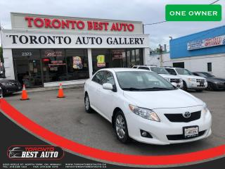 Used 2010 Toyota Corolla |ONE OWNER|PUSH BUTTON|KEYLESS ENTRY| for sale in Toronto, ON