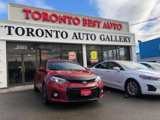 Used 2015 Toyota Corolla 4dr Sdn S for sale in Toronto, ON