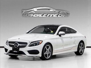 Used 2017 Mercedes-Benz C-Class C300 4MATIC Coupe, Navigation, Camera, Panoramic for sale in Concord, ON