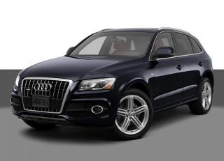 Used 2012 Audi Q5 2.0 Premium NAVI Sunroof Blind Spot Back-Up Camera Parking Sensors Clean Carfax One Owner for sale in North York, ON