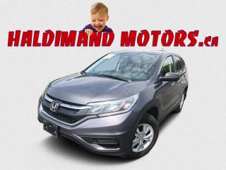 Used 2016 Honda CR-V LX 2WD for sale in Cayuga, ON