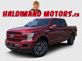 Used 2018 Ford F-150 Lariat SPORT CREW 4WD for sale in Cayuga, ON