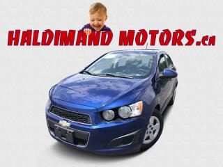 Used 2013 Chevrolet Sonic LS 2WD for sale in Cayuga, ON