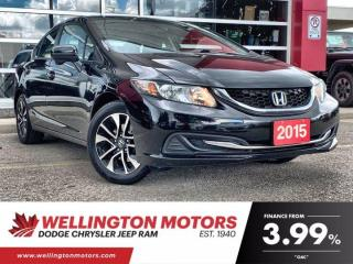 Used 2015 Honda Civic Sedan EX | New Front Brake Pads & Rotors for sale in Guelph, ON