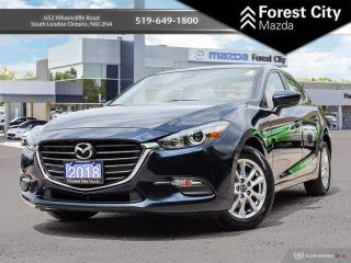 Used 2018 Mazda MAZDA3 GS  ( ONE OWNER, LOW KILOMETERS, CLEAN CARFAX ) for sale in London, ON