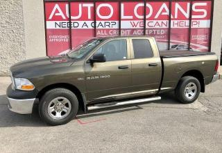 Used 2012 RAM 1500 ST-ALL CREDIT ACCEPTED for sale in Toronto, ON
