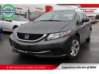Used 2015 Honda Civic LX | CVT | Heated Front Seats for sale in Whitby, ON