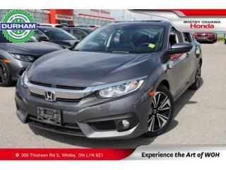 Used 2017 Honda Civic EX-T w/Honda Sensing | CVT | Power Moonroof for sale in Whitby, ON
