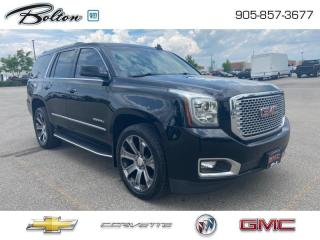 Used 2016 GMC Yukon Denali Heads Up Display, Side Steps, for sale in Bolton, ON
